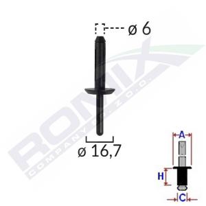 nit plastikowy B13750