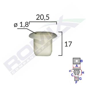 kostka montażowa C60104