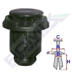 kołek rozporowy C60363