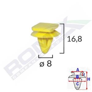 spinka listwy C50054